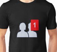 Facebook Friends - One Firend Unisex T-Shirt