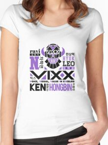 VIXX Collage Women's Fitted Scoop T-Shirt