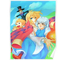 Life with Howl - Howl's Moving Castle Poster