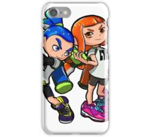 Inkling Boy and Girl iPhone Case/Skin