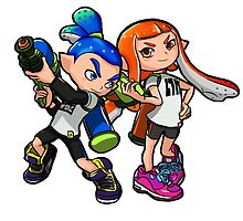 Inkling Boy and Girl by LauryQuinn