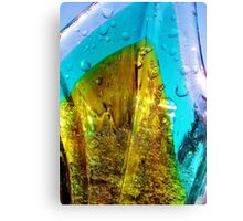 Glass, Color  and Light Canvas Print