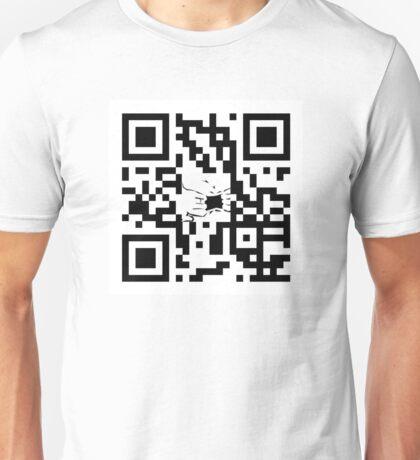 GOATSE QR Code Unisex T-Shirt
