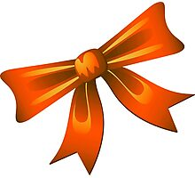 Bow - Ribbon Photographic Print