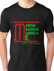 Martin Malcom Mandela Me Unisex T-Shirt