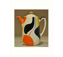 Art Deco Pottery Art Print