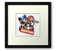 Team Inkling Framed Print