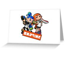 Team Inkling Greeting Card
