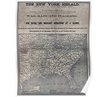 Civil War Maps 1906 War maps and diagrams Poster