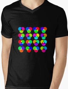 colours Mens V-Neck T-Shirt
