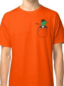 Pocket Reptilian - Leafy Classic T-Shirt