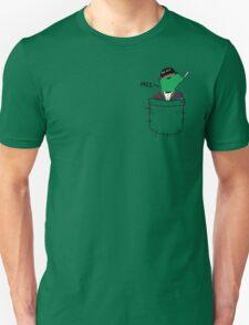 Pocket Reptilian - Leafy Unisex T-Shirt