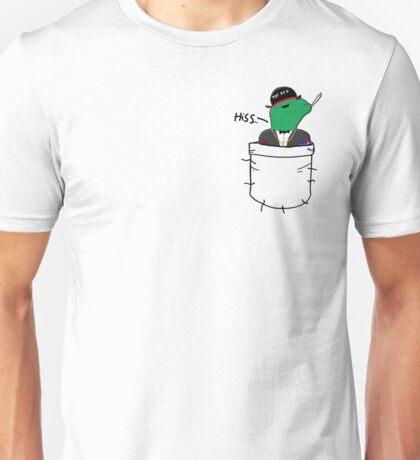 Pocket Reptilian - Leafy ( Leafyishere ) Unisex T-Shirt