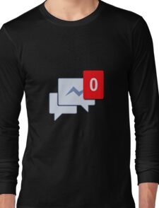 Facebook Chat Messages - Messenger  Long Sleeve T-Shirt