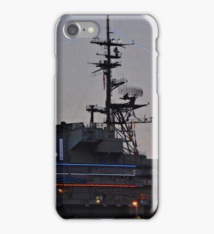 USS Midway CV-41 Museum  iPhone Case/Skin