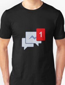 Facebook Chat Messages - Messenger  Unisex T-Shirt