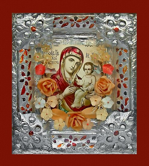Mother God icon by snotbubble
