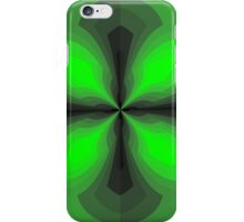 Shaded Green Cross iPhone Case/Skin