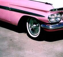 Pink Caddy Sticker