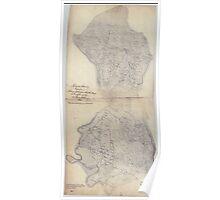 Civil War Maps 0487 Henrico County Virginia Poster