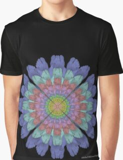 Foot Flower Graphic T-Shirt