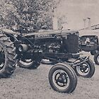 Farmall with Case by Kadwell