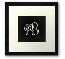 Cool Cut Srtoke Elephant  Framed Print