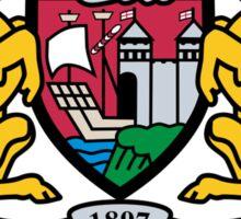 bristol city logo Sticker