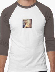 Kitten Terror Men's Baseball ¾ T-Shirt