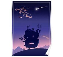 Castle Shadow - Howl's Moving Castle Poster