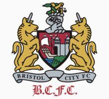 bristol city fc Kids Tee