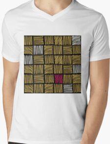 Abstract geometric hand drawn strokes seamless pattern. T-Shirt
