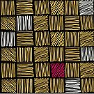Abstract geometric hand drawn strokes seamless pattern. by OlgaBerlet