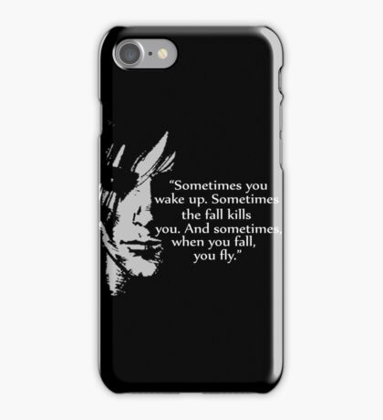 Sometimes you wake up iPhone Case/Skin