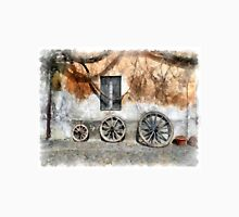 View with wagon wheels Classic T-Shirt