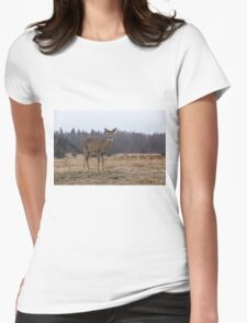 In a storm field Womens Fitted T-Shirt