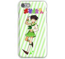Ohayo! Choromatsu Stickers, Cases & Notebooks iPhone Case/Skin