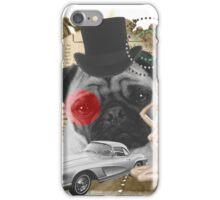 Pug Retrô iPhone Case/Skin