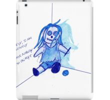lonely, I'm so lonely iPad Case/Skin