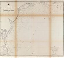 Civil War Maps 0065 Atlantic coast of the United States in four sheets sheet no II Nantucket to Cape Hatteras by wetdryvac