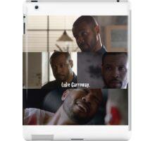 Luke Garroway iPad Case/Skin