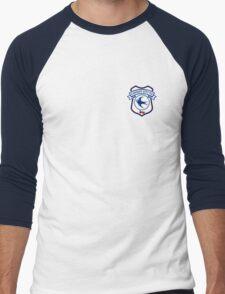 cardiff city Men's Baseball ¾ T-Shirt