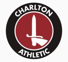 charlton athletic logo Kids Tee