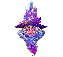 Crystal Wizard Photographic Print