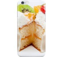 tart from fruit iPhone Case/Skin