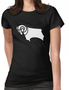 derby county Womens Fitted T-Shirt