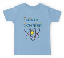 Future Scientist announcement for kids clothes  Kids Tee