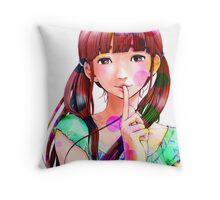Aiko - Oyasumi Punpun Throw Pillow