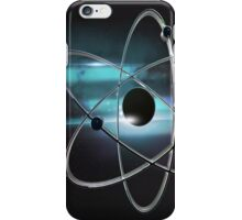 Metallic atom in space  iPhone Case/Skin