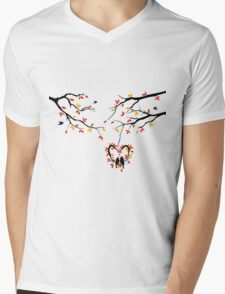 cute birds #2 Mens V-Neck T-Shirt